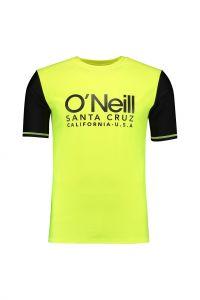 O'Neill---UV-shirt-met-korte-mouwen-voor-heren---Cali---Geel
