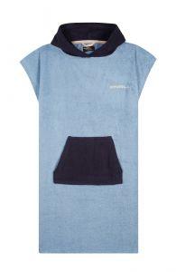 O'Neill---Badcape-met-capuchon-voor-heren---Jack's-Towel---Lichtblauw