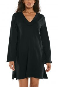 Coolibar---UV-werende-strandjurk-voor-dames---Samoa-Cover-Up---Zwart
