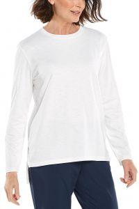 Coolibar---UV-Shirt-voor-dames---Carington-Tee---Wit