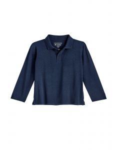 Coolibar---UV-Poloshirt-voor-peuters---Longsleeve---Coppitt---Navy