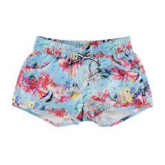 Molo---UV-zwemshort-voor-meisjes---Nalika---Coral-Stripe