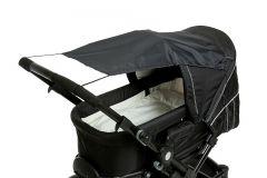 Altabebe---Universele-UV-zonnescherm-voor-kinderwagens---Zwart