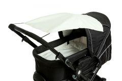 Altabebe---Universele-UV-zonnescherm-voor-kinderwagens---Beige