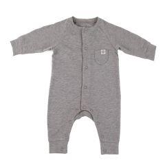 Cloby---UV-werende-romper-voor-baby's---Steengrijs