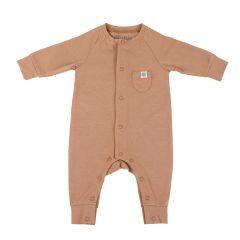 Cloby---UV-werende-romper-voor-baby's---Kokosnoot-Bruin