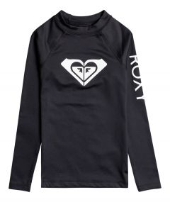 Roxy---UV-Zwemshirt-voor-tienermeisjes---Longsleeve---Whole-Hearted---Antraciet