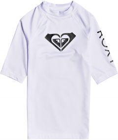 Roxy---UV-Zwemshirt-voor-tienermeisjes---Whole-Hearted---Wit