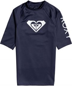 Roxy---UV-Zwemshirt-voor-tienermeisjes---Whole-Hearted---Mood-Indigo