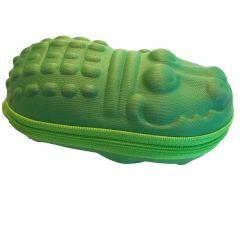 Banz---Zonnebrillenetui-voor-kinderen---Nijlpaard---Groen