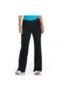 Coolibar---UV-strandbroek-dames---Zwart