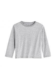 Coolibar---UV-Shirt-voor-peuters---Longsleeve---Coco-Plum---Mist/Wit