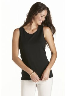 Coolibar---UV-singlet-dames---Zwart
