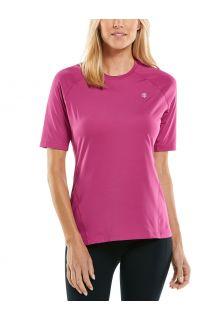Coolibar---UV-sportshirt-voor-dames---Devi-Fitness---Rabarber