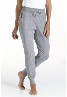 Coolibar---Casual-UV-broek-dames---grijs