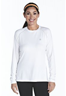 Coolibar---UV-sport-longsleeve-shirt-dames---wit
