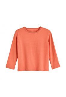 Coolibar---UV-Shirt-voor-peuters---Longsleeve---Coco-Plum---Zacht-Koraal