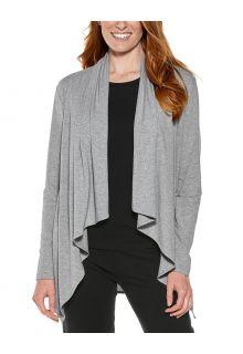 Coolibar---UV-Sun-Wrap-Vest-voor-dames---Marietas---Grijs
