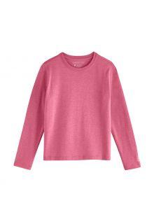 Coolibar---UV-Shirt-voor-kinderen---Longsleeve---Coco-Plum---Dahlia-Roze