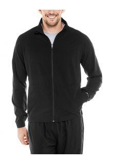 Coolibar---UV-Sportjack-voor-heren---Outspace---Zwart