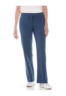 Coolibar---UV-Strandbroek-voor-dames---Windley---Denimblauw
