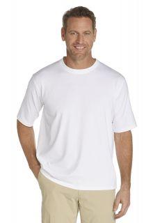 Coolibar---UV-shirt-heren---wit