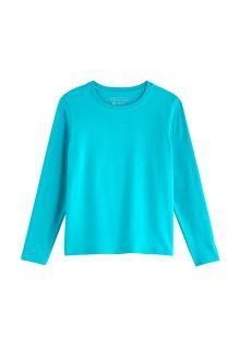 Coolibar---UV-Shirt-voor-kinderen---Longsleeve---Coco-Plum---Turquoise