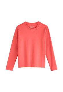 Coolibar---UV-Shirt-voor-kinderen---Longsleeve---Coco-Plum---Eiland-Koraal