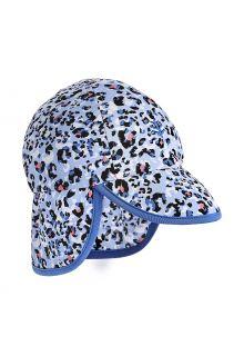 Coolibar---UV-Zonnepet-voor-baby's-met-nekflap---Splashy---Cheetah