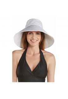 Coolibar---UV-flaphoed-voor-dames-met-brede-rand---Wit