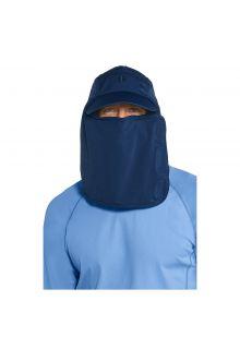 Coolibar---UV-zonnepet-voor-heren-met-gezichts--en-nekflap---Donkerblauw