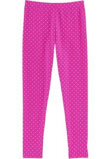Coolibar---UV-zwemlegging-voor-meisjes---Roze-polka-dot