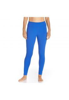 Coolibar---UV-Zwemlegging-dames---Baja-blauw
