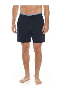 Coolibar---UV-Zwemshort-voor-heren---Kahuna---Navy