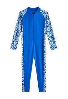 Coolibar---UV-Zwempak-voor-jongens---Barracuda-van-nek-tot-enkel---Marlijnblauw