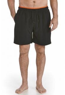 Coolibar---UV-Zwembroek-heren---Zwart