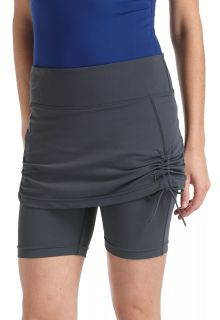 Coolibar---UV-rokje-met-broekje-dames---grijs