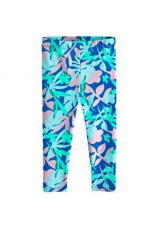 Coolibar---UV-Zwemlegging-voor-baby's---Wave-Tights---Marlijn-Blauw/Bloemen