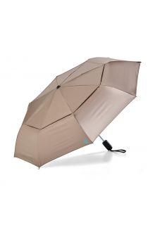 Coolibar---UV-werende-Paraplu---Sodalis-Travel---Goud/Aqua