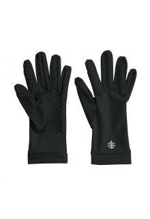 Coolibar---UV-werende-handschoenen-voor-volwassenen---Sawyer---Zwart