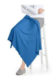 Coolibar---UV-werende-zonnedeken---Savannah---Azuurblauw