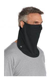 Coolibar---UV-werend-Gezichtsmasker-voor-volwassenen---Crestone---Zwart