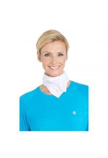 Coolibar---UV-beschermende-bandana---Wit