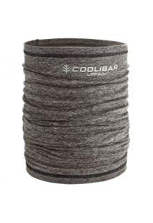 Coolibar---UV-werende-sjaal-voor-volwassenen---Virasana---Houtskoolgrijs