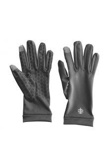 Coolibar---UV-werende-handschoenen-voor-volwassenen---Gannett---Houtskoolgrijs