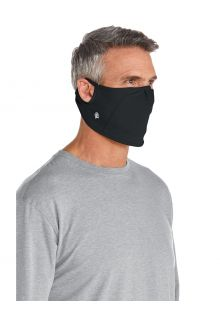 Coolibar---UV-werend-Masker-voor-volwassenen---Blackburn---Zwart