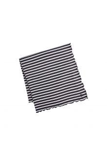 Coolibar---UV-deken-voor-dames,-heren,-kinderen,-baby's---zwart/wit-gestreept