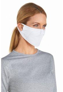 Coolibar---UV-gezichtsmasker---Wit