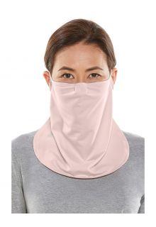 Coolibar---UV-werend-Gezichtsmasker-voor-volwassenen---Crestone---Roze