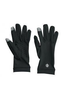 Coolibar---UV-werende-handschoenen-voor-volwassenen---Gannett---Zwart